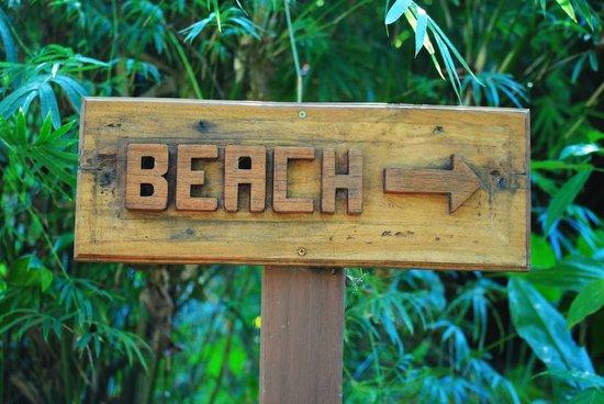El Remanso Lodge: Beach Trail