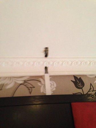 Edinburgh Regency Guest House : more wires