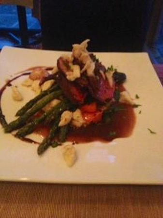 The Restaurant at Gideon Ridge: Restaurant G entree