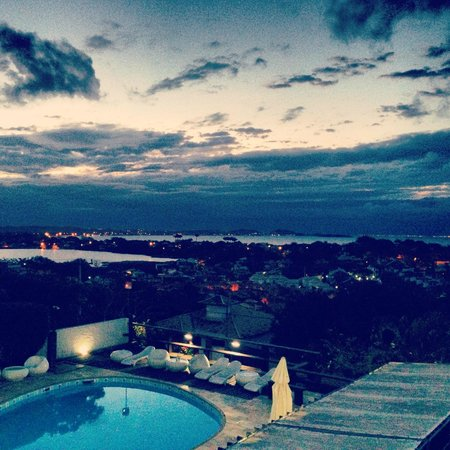 Buzios Arambare Hotel: Vista desde el balcón