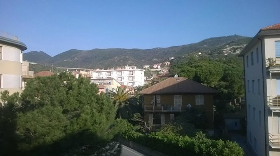 Hotel Mediterranee: vista dalla stanza