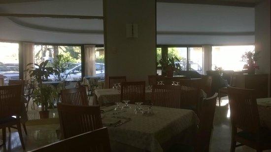 Hotel Mediterranee: sala pranzo-colazione