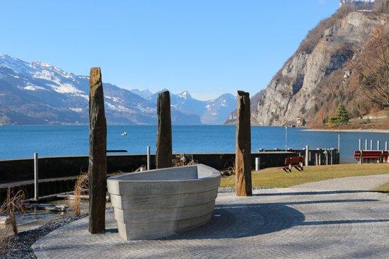 Walenstadt, Sveits: Aussicht