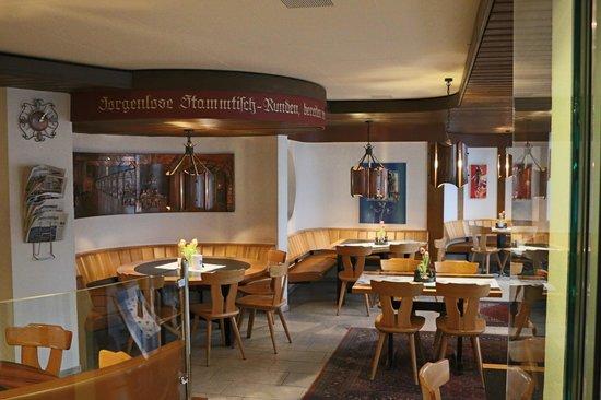 Walenstadt, Sveits: Tagesrestaurant