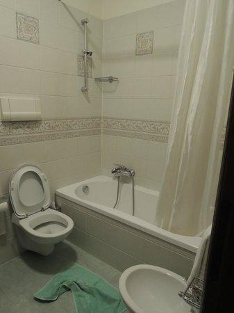 San Cassiano Residenza d'Epoca Ca' Favretto : Simple bathroom