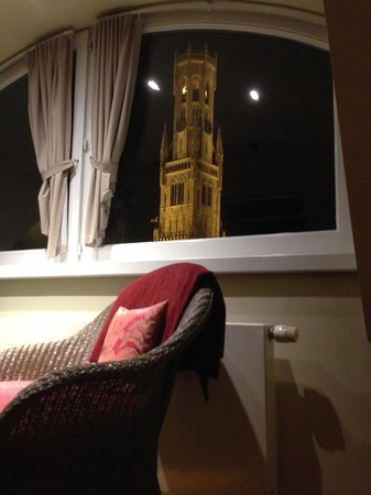 Sint Niklaas B & B: a room with a view