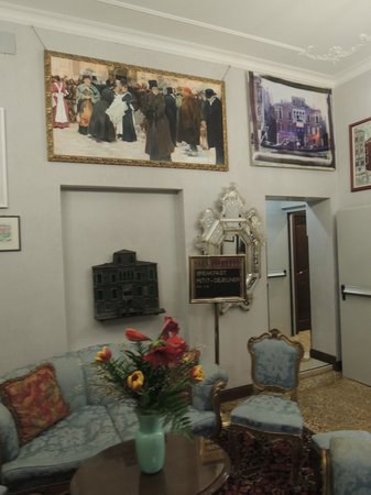 San Cassiano Residenza d'Epoca Ca' Favretto : Rest area in hotel