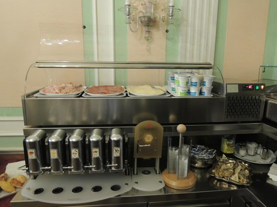 San Cassiano Residenza d'Epoca Ca' Favretto : Good breakfast