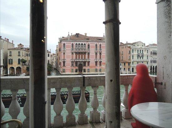 San Cassiano Residenza d'Epoca Ca' Favretto : View from breakfast area