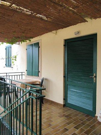 Apartments La Pergola: Terrazzo in comune