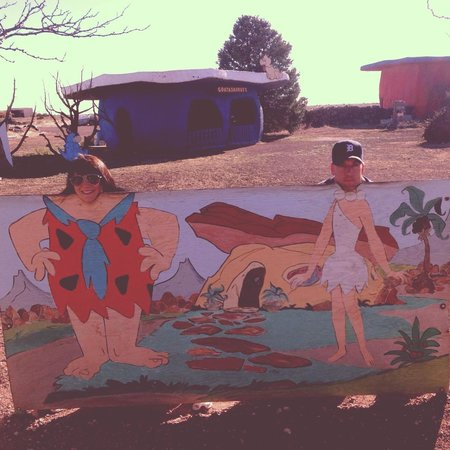 Flintstone's Bedrock City: A picture is worth a thousand words??