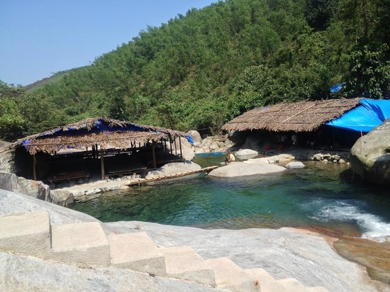 Hue To Go Tours - Day Tours : by the waterfall