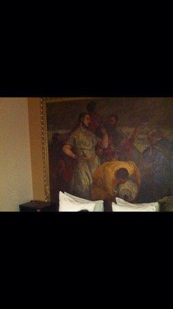 Hotel Le Walt: Il quadro nella stanza