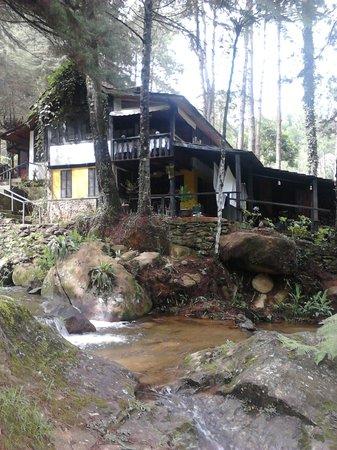 Pousada Canto das Aguas: A casa sede da pousada