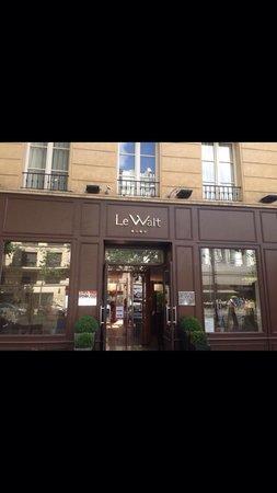 Hotel Le Walt: Fuori l hotel
