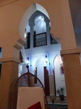 Riad Les Jardins Mandaline: Vue du hall