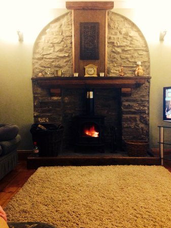 Swansea Valley Holiday Cottages: The fire