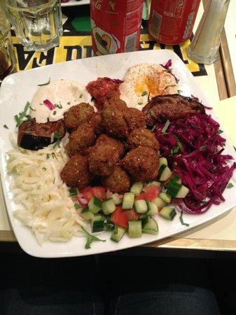 L'As du Fallafel : fallafel vegetariano