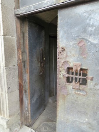 Historic Center (Centro Historico): Locked entrance up to bell towers at Metropolitan Cathedral