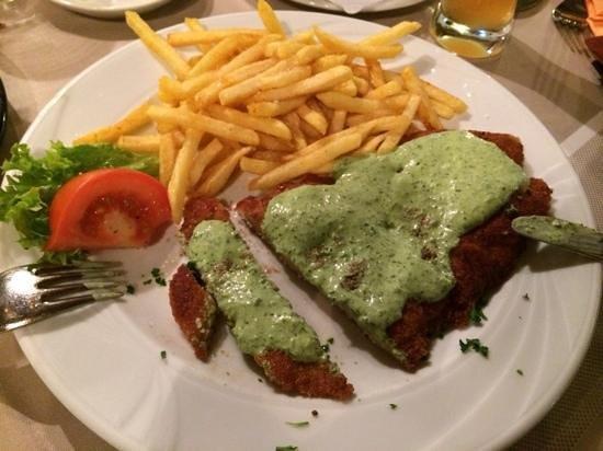 Goldener Apfel: Frankfurter Schnitzel