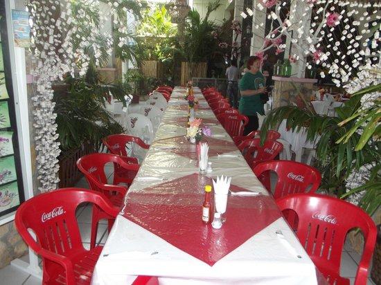 Posada y Restaurante Macumba: comedor!