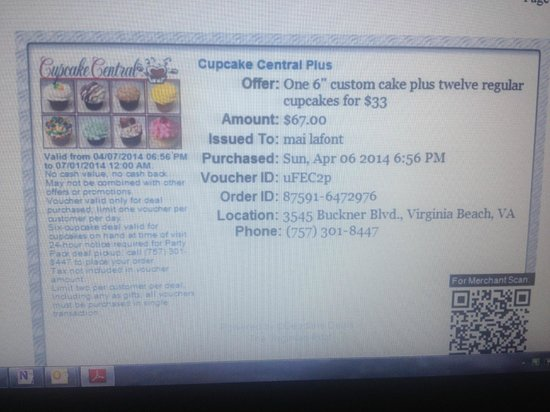 Cupcake Central Horrible Exp