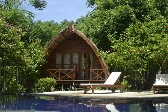 Manta Dive Gili Air Resort : Cottage
