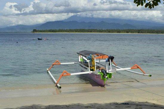 Manta Dive Gili Air Resort: Las playas de Gili Air