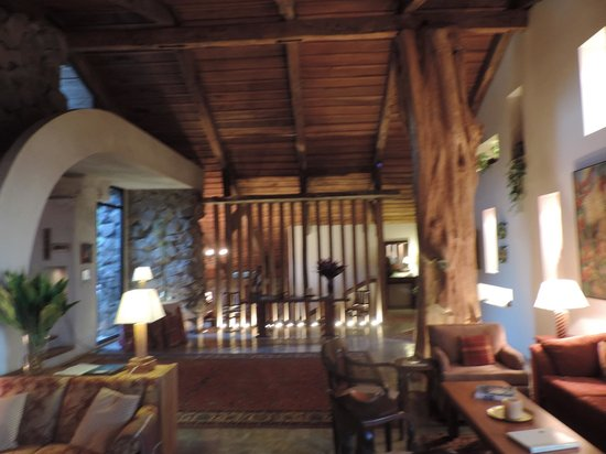Poas Volcano Lodge: inside the lodge