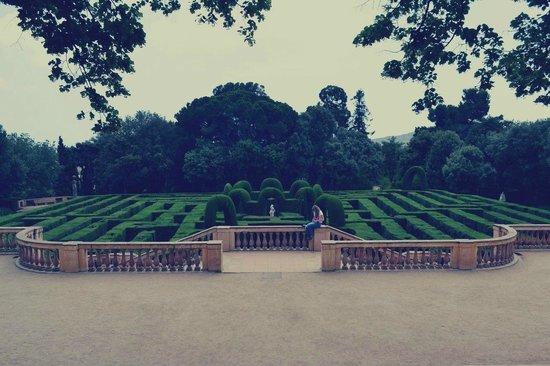 Parque del Laberinto de Horta: Попробуй его пройти