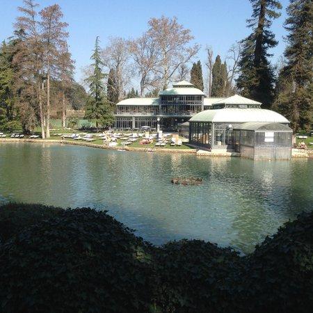 Villa dei Cedri: lago termale
