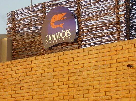 Camarões Midway Mall: Fachada da frente do Restaurante