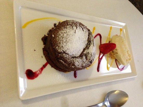 Les Oliviers: moelleux chocolat