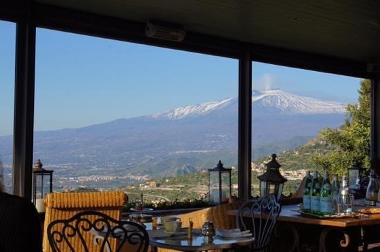 Hotel Villa Ducale: Aussicht vom Restaurant!