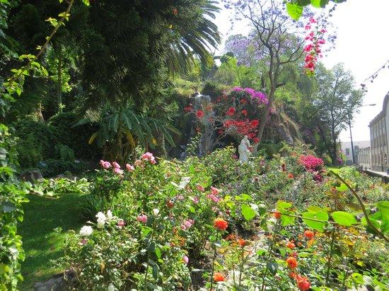 Basilica de Santa Maria de Guadalupe: beautiful gardens