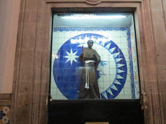 Basilica de Santa Maria de Guadalupe: In the chapel on the hill