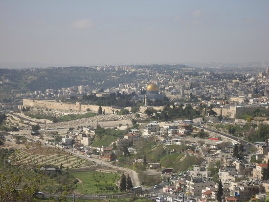 Bein Harim Tourism Services - Day Tours: View of Jerusalem from Mt.Scopus