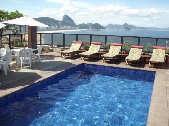 Copacabana Rio Hotel : Uma delicia, e um belo visual