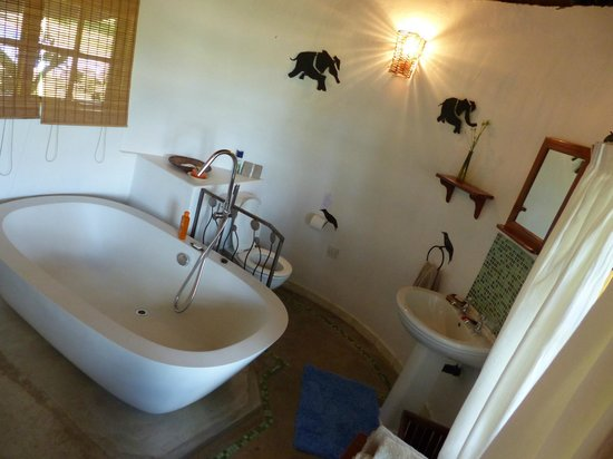 Waterberry Zambezi Lodge: Bathroom