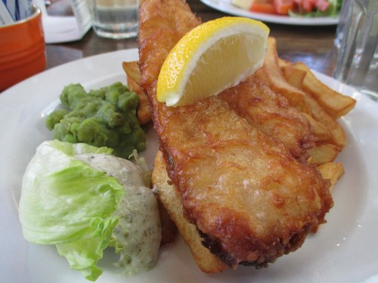 The Kitchen at Tower: Fish & Chips