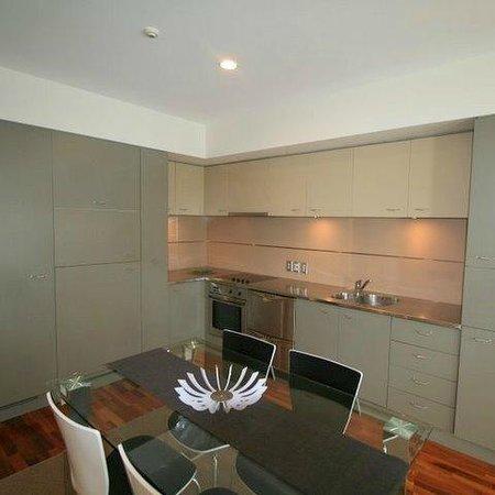 Latitude 37 Accommodation Ltd: Kitchen - 2 Bedroom apartment