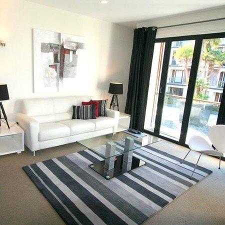 Latitude 37 Accommodation Ltd: 2 Bedroom Living area