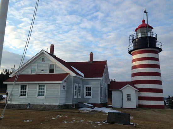 Quoddy Head State Park: The lighthouse