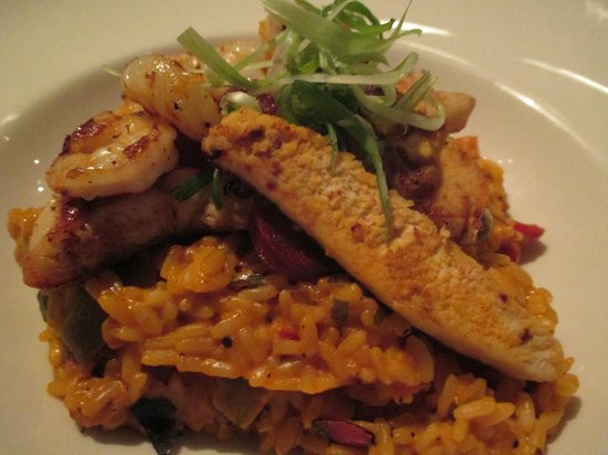 Giraffe - The Brunswick Centre: Jambalaya Risotto