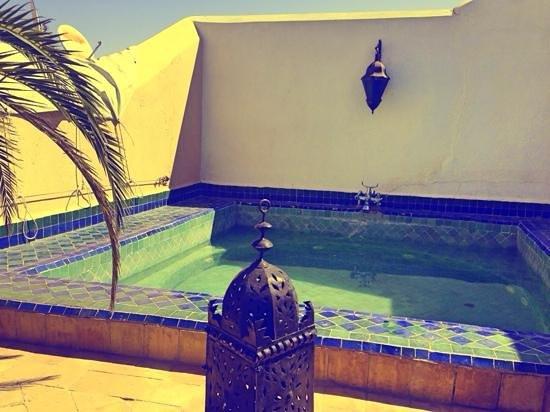 Riad Lea : terrasse