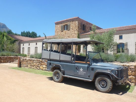 Wine Escapes - Exclusive Cellar & Vineyard Tours : Waterford Estate