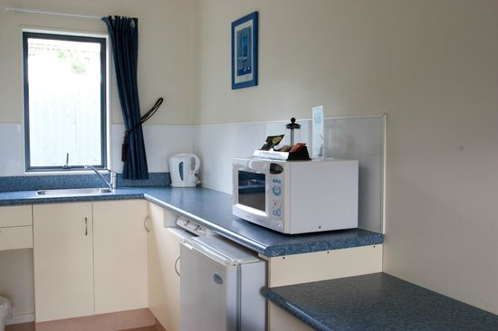 Havelock Motel and Motor Lodge: Standard Studio kitchen