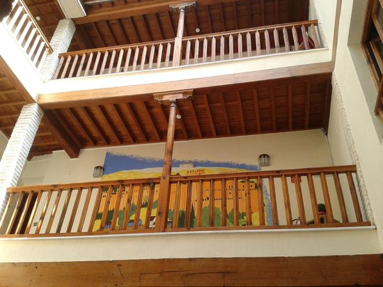 White Nest Hostel Granada: The balconies