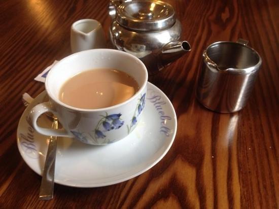 Old Schoolhouse Tearoom: Lovely tea