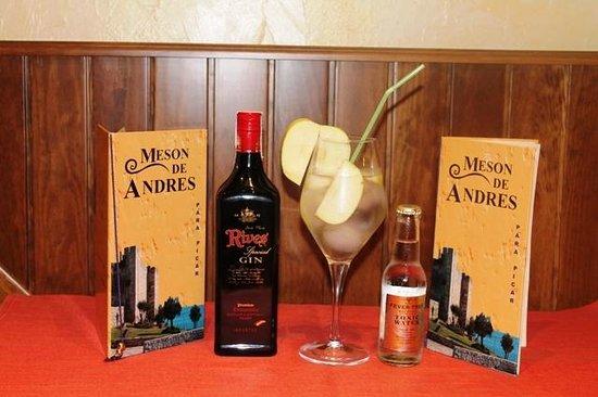 Meson de Andres: Gin Tonic que presentamos en el concurso de Fuengirola